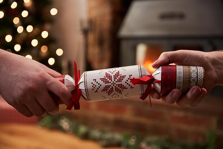 Christmas Crackers en el Reino Unido