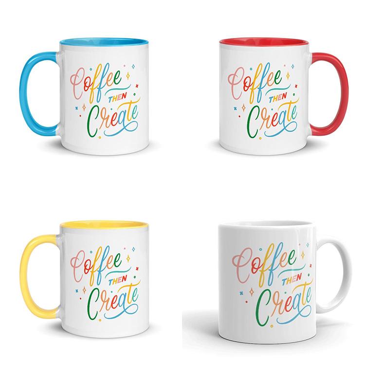 Coffee Then Create Mugs