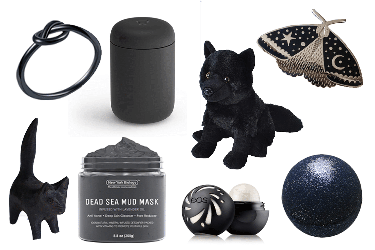 Black Gift Basket - 64 Products to Help You Create the Perfect Color-Themed Gift Basket