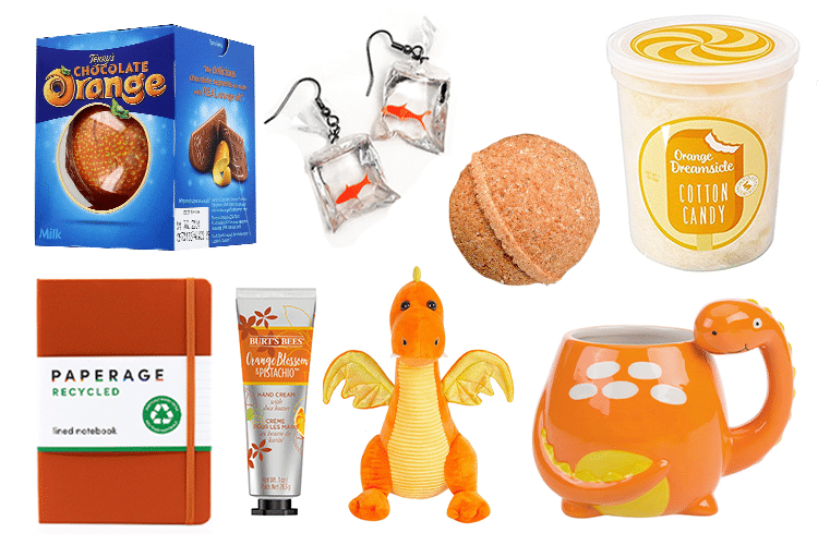 Orange Gift Basket - 64 Products to Help You Create the Perfect Color-Themed Gift Basket