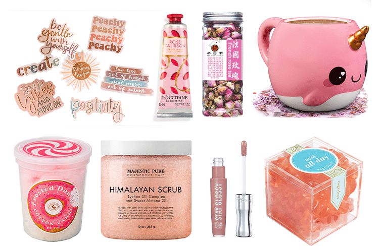 Pink Gift Basket - 64 Products to Help You Create the Perfect Color-Themed Gift Basket