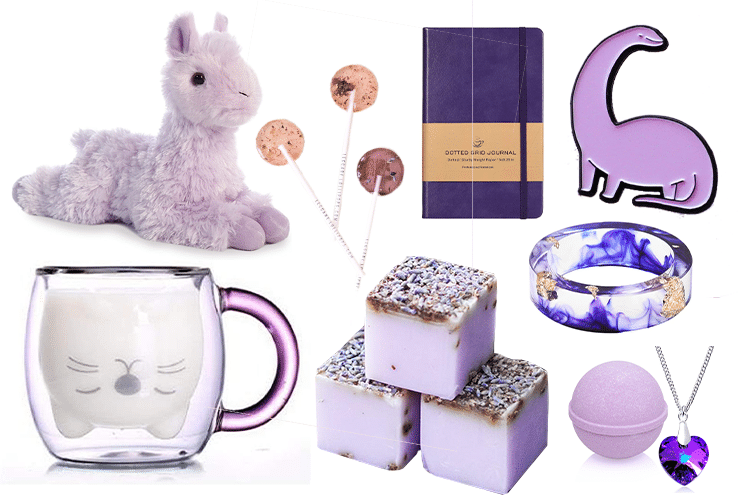 Purple Gift Basket - 64 Products to Help You Create the Perfect Color-Themed Gift Basket