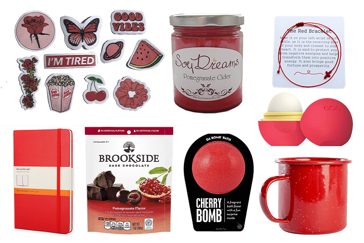 Red Gift Basket - 64 Products to Help You Create the Perfect Color-Themed Gift Basket