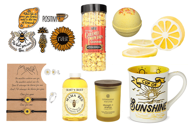 Yellow Gift Basket - 64 Products to Help You Create the Perfect Color-Themed Gift Basket