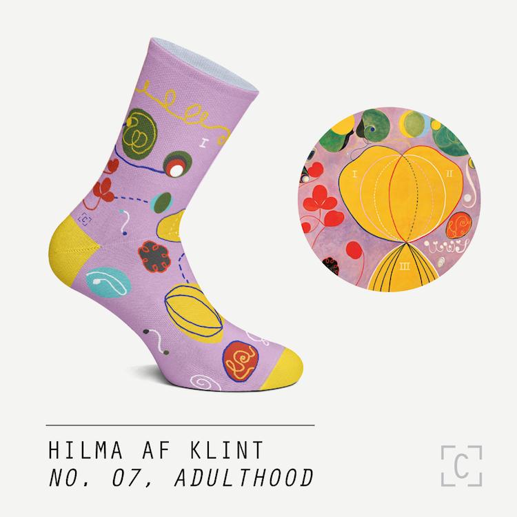 calcetines artisticos por Curator Socks