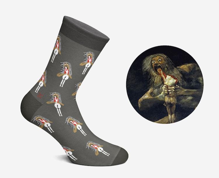Artistic Socks by Curator Socks
