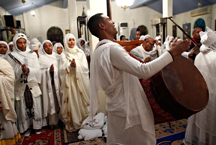 Navidad ortodoxa en Etiopía