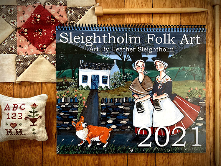 Folkart Calendar