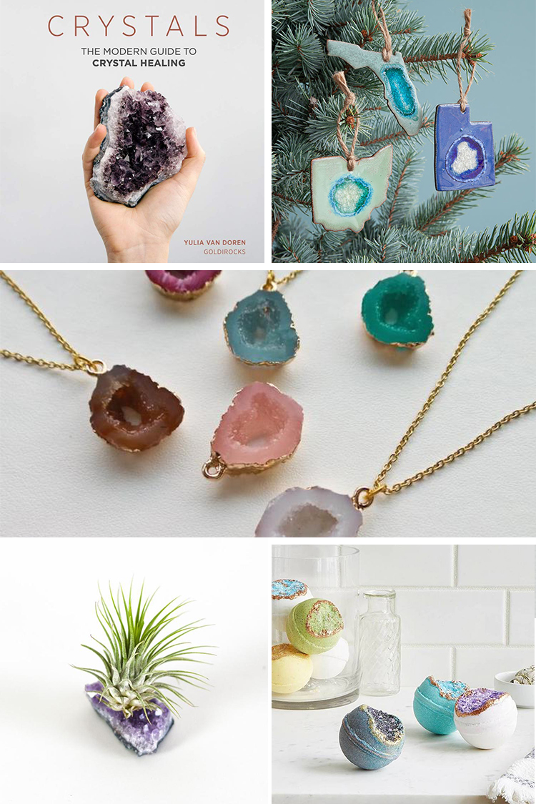 Geode and Crystal Gifts