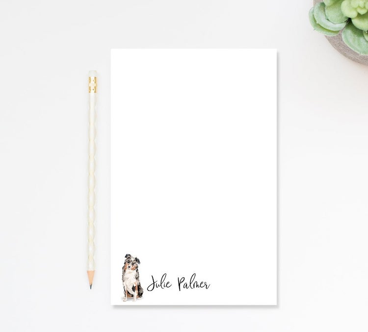 Personalized Dog Notepad