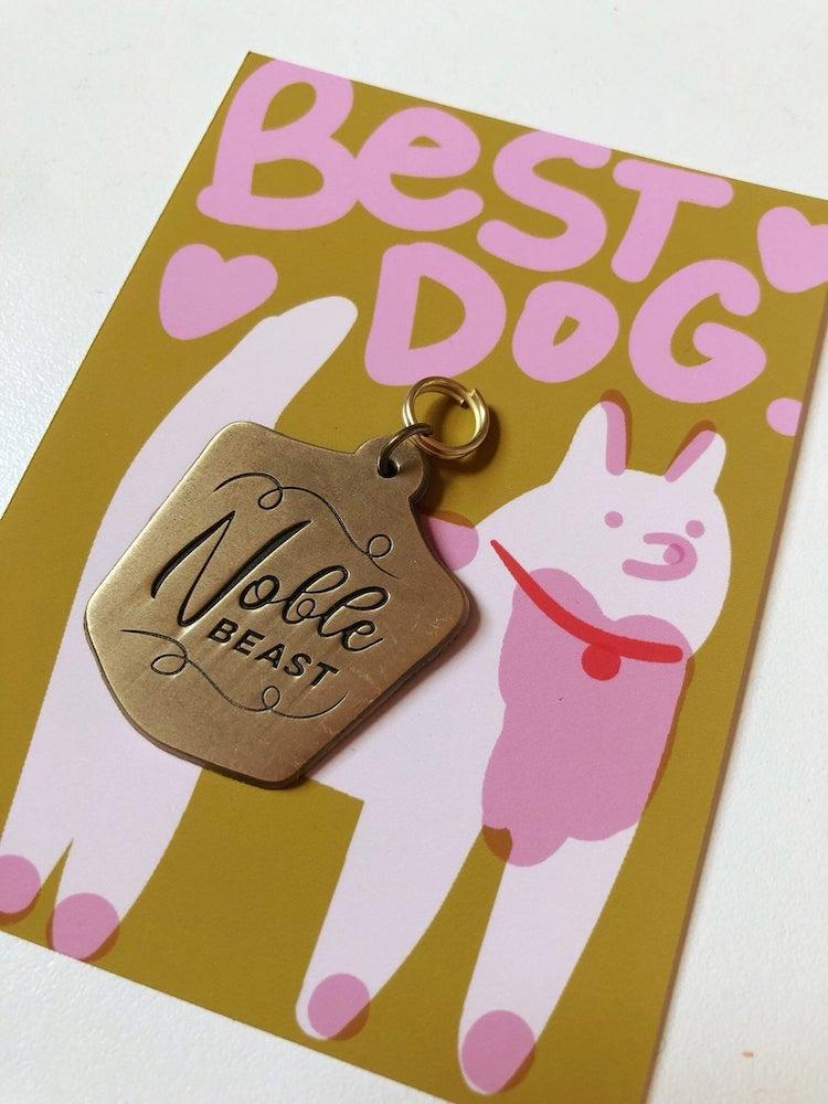 Noble Beast Dog Tag