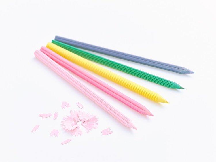 Crayons de Couleur Fleurs
