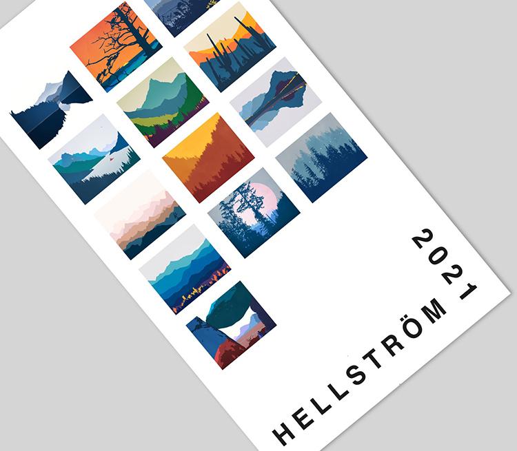 Hellstrom Wall Calendar