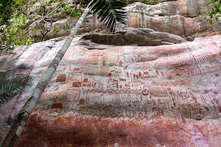 Ice Age Rock Art Discovery