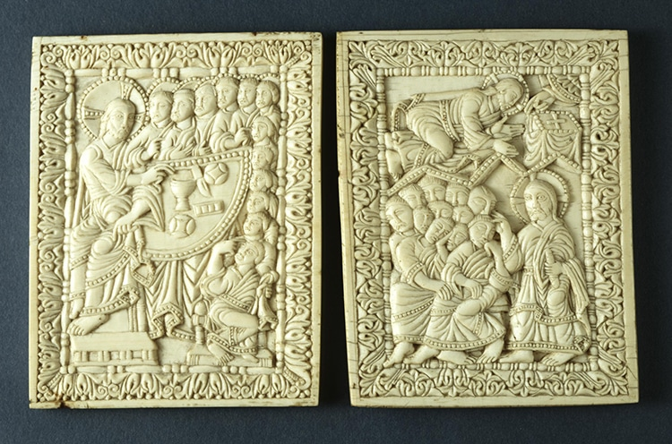 Ivory Plaques For Book or Reliquary