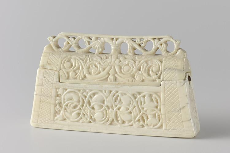 Romanesque Ivory Reliquary 1125