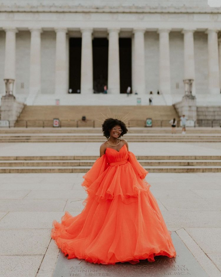 Incredible Photoshoot of Jasmine Dauphine's Canceled Prom Look by Isabella Ortiz