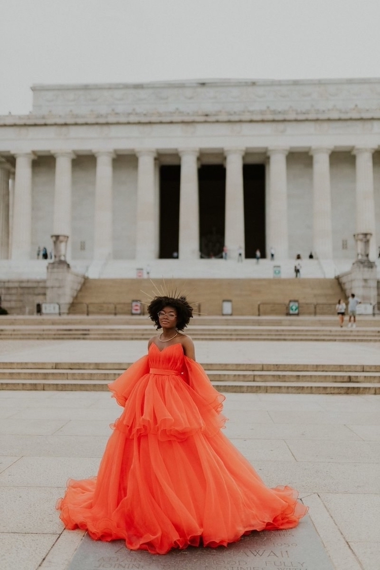Jasmine Dauphine Canceled Prom Dress Photoshoot by Isabella Ortiz