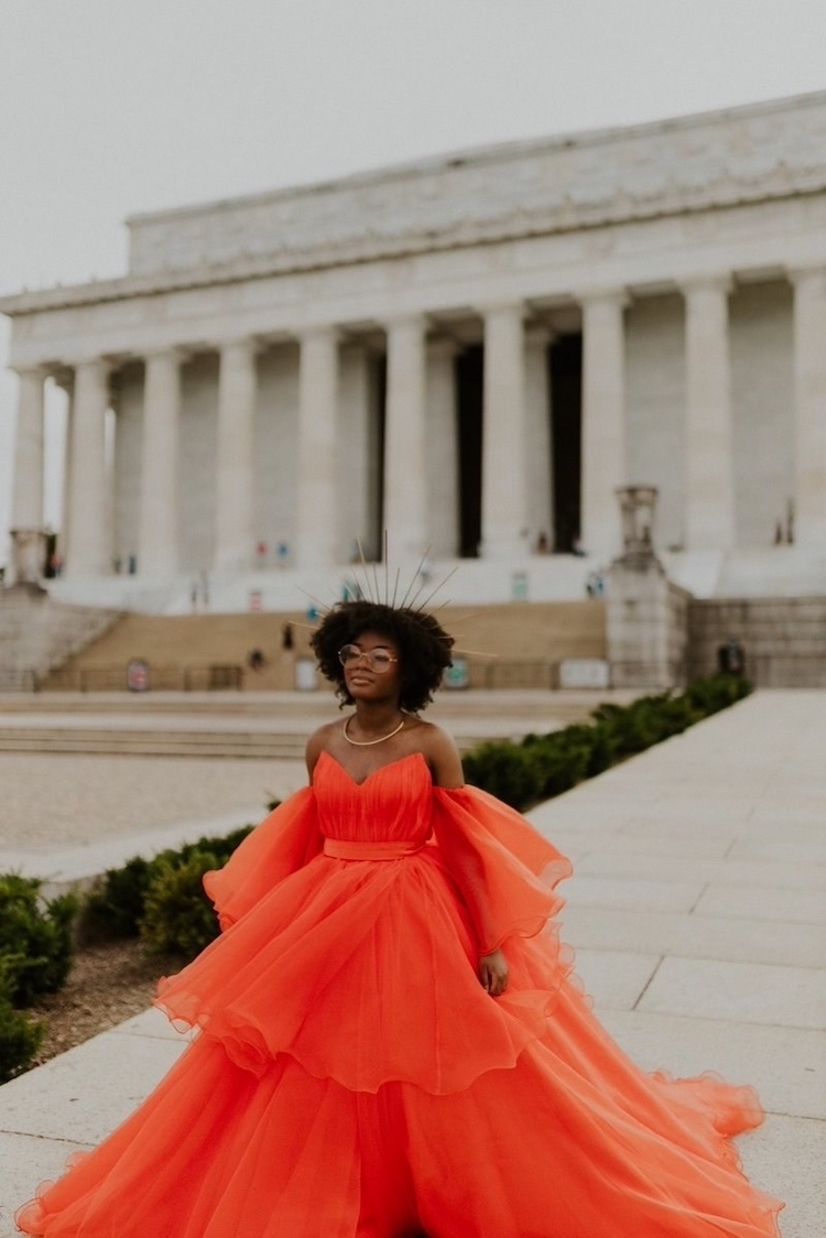 Amazing Prom Dress Photoshoot of Jasmine Dauphine by Isabella Ortiz