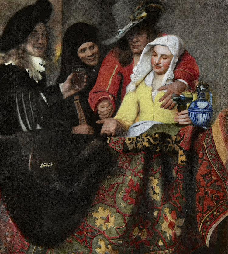 La alcahueta de Johannes Vermeer