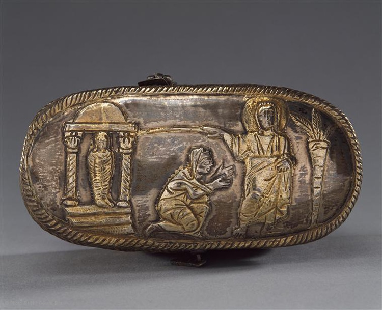 Silver Reliquary Late Antiquity