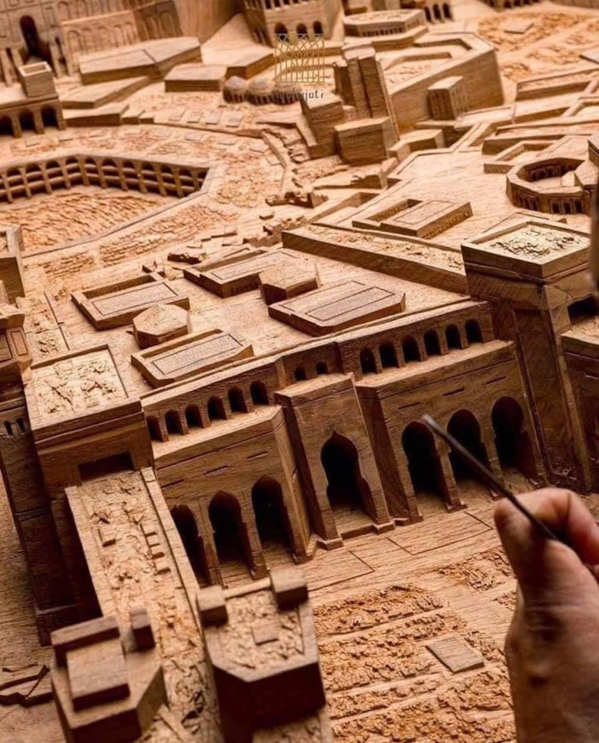 Mahajati's Intricate Wood Carvings Support Traditional Craft
