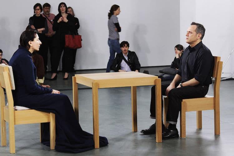 Marina Abramović en el MoMA