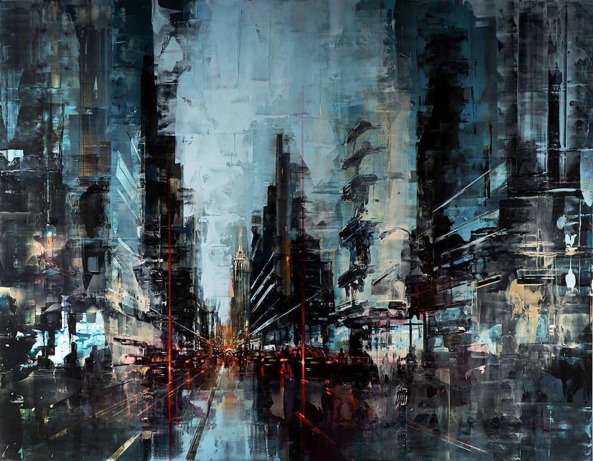 Cityscape Paintings by Martin Koester