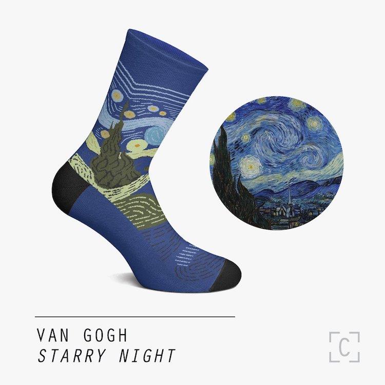 calcetines de arte por Curator Socks