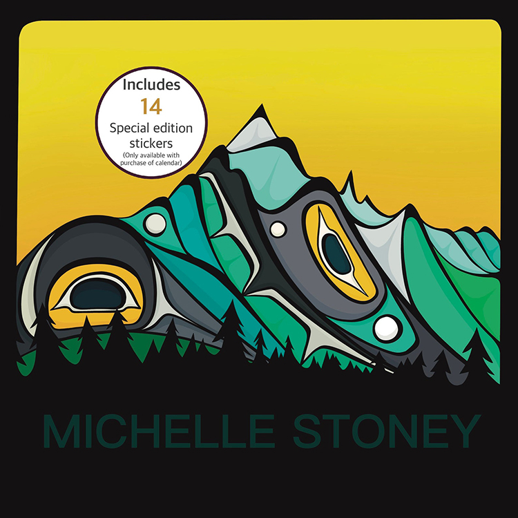 Michelle Stoney First Nations Artist Calendar Pacific Northwest