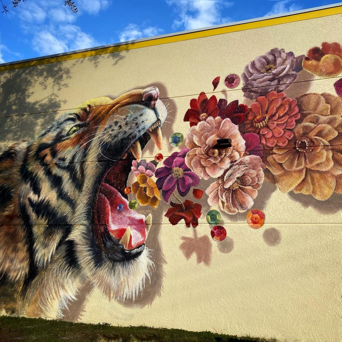 Tiger Mural by Naomi Haverland