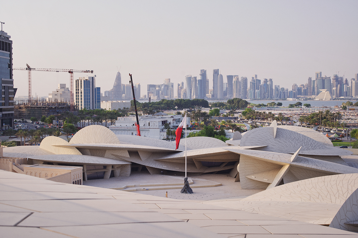 Photographer Captures the Incredibly Abstract National Museum of Qatar