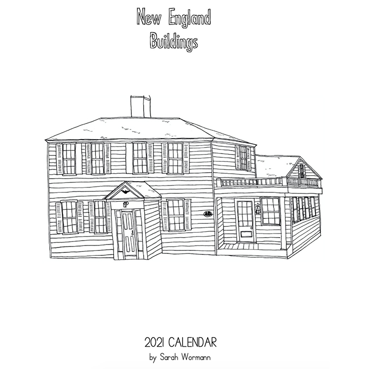 New England Buildings 2021 Calendar