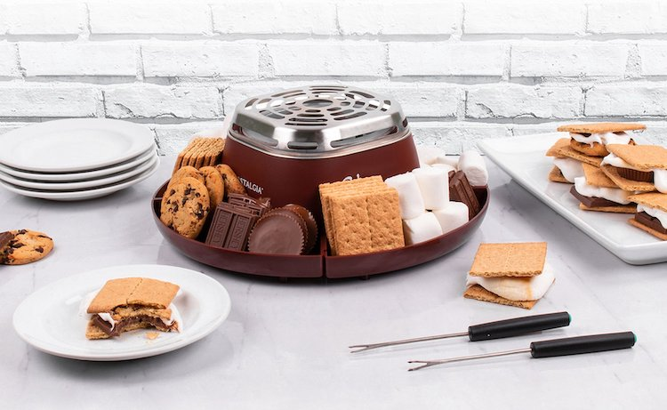 Spread With Nostalgia Indoor Electric S'mores Maker