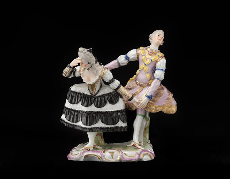 Pas De Deux Figurine Ballet Dancers