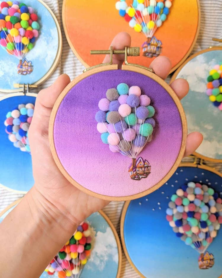 Embroidery Art by Penny Dowdell