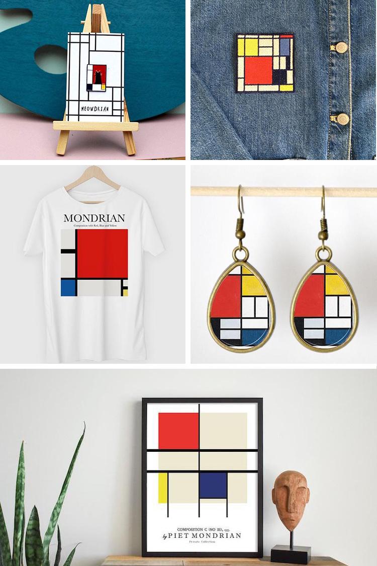 Piet Mondrian Gifts
