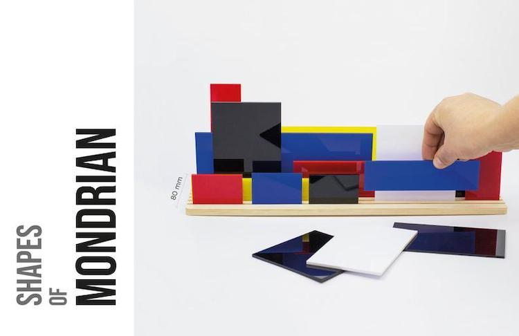 Mondrian Building Toy
