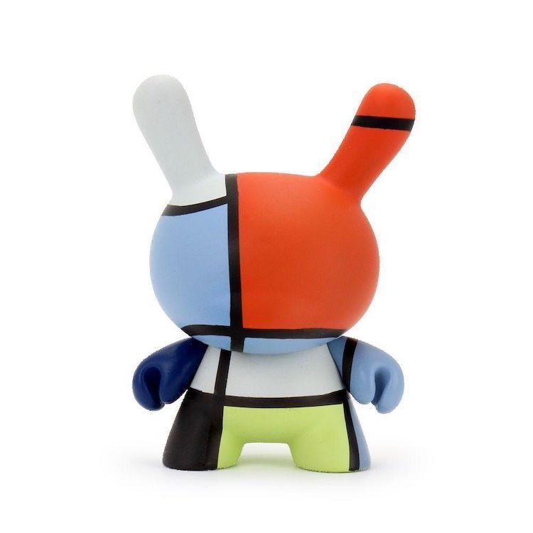 Kidrobot: Mondrian Composition Dunny