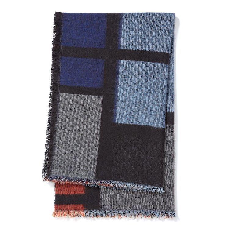 Mondrian Composition Throw