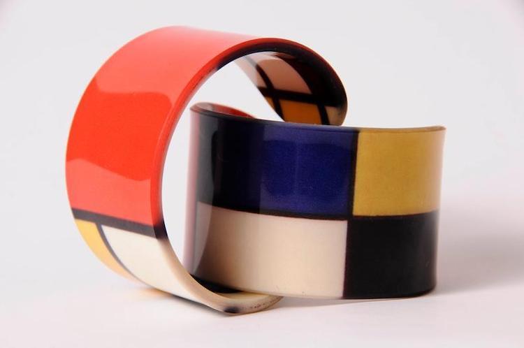Piet Mondrian Bangles