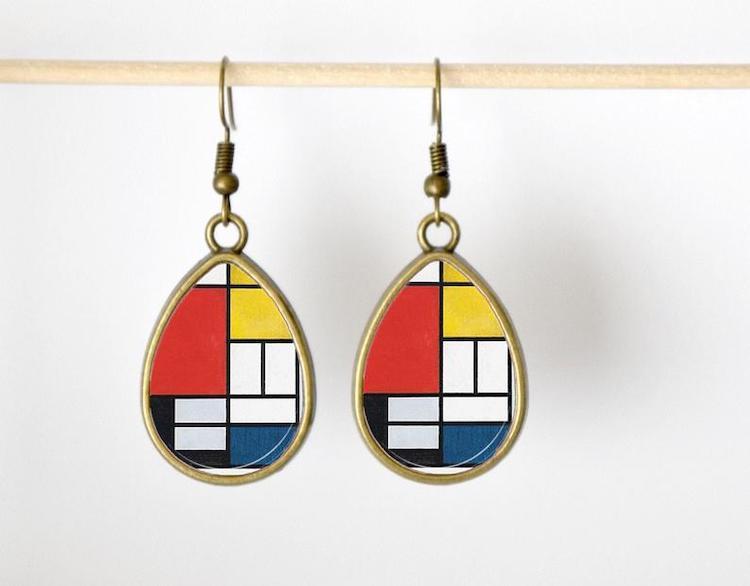 Mondrian Earrings