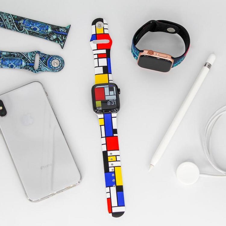 Mondrian Apple Watch Strap