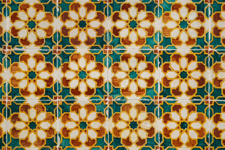 Colorful Portuguese Tiles