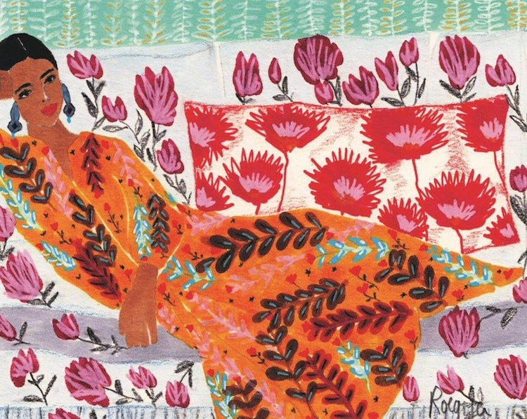 Vibrant Color and Patterns Illustration by Roeqiya Fris