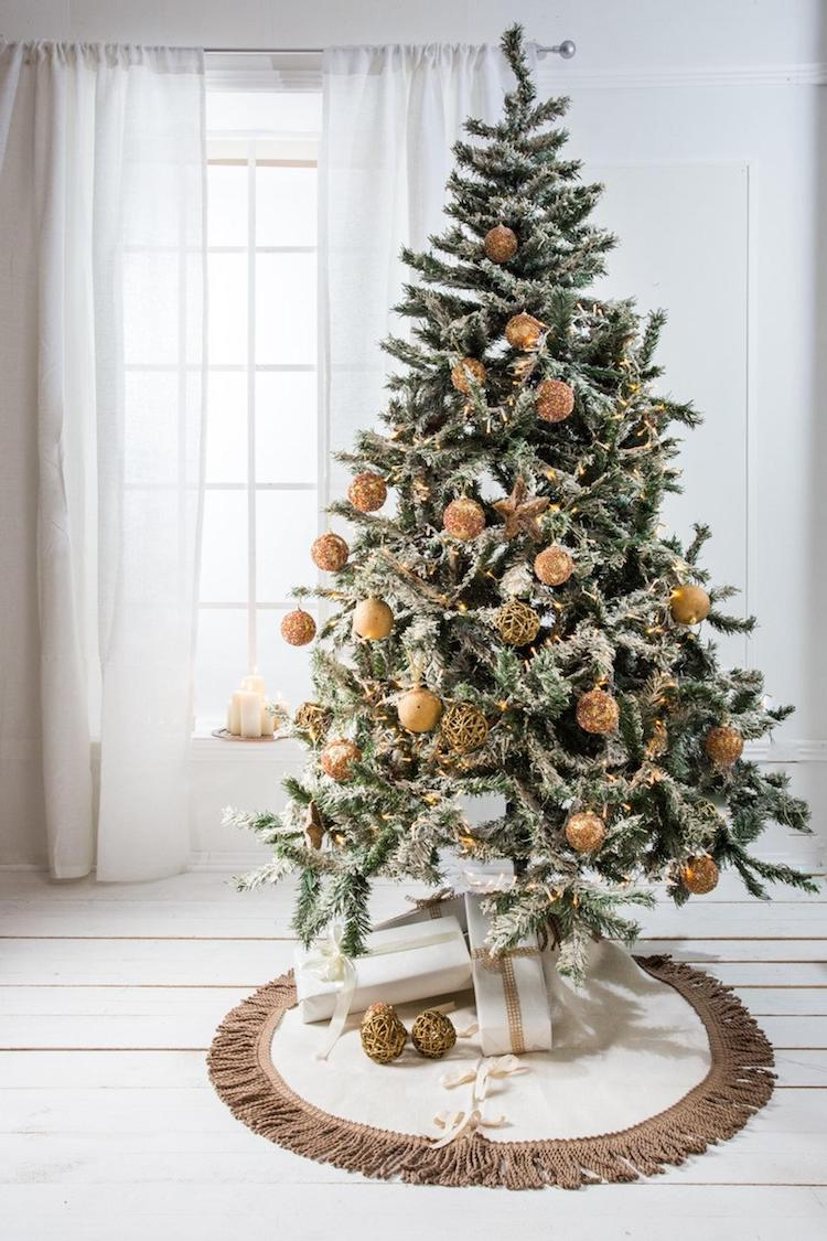 Tree Skirt - 20+ Awesome Items to Complete Your Rustic Christmas Aesthetic