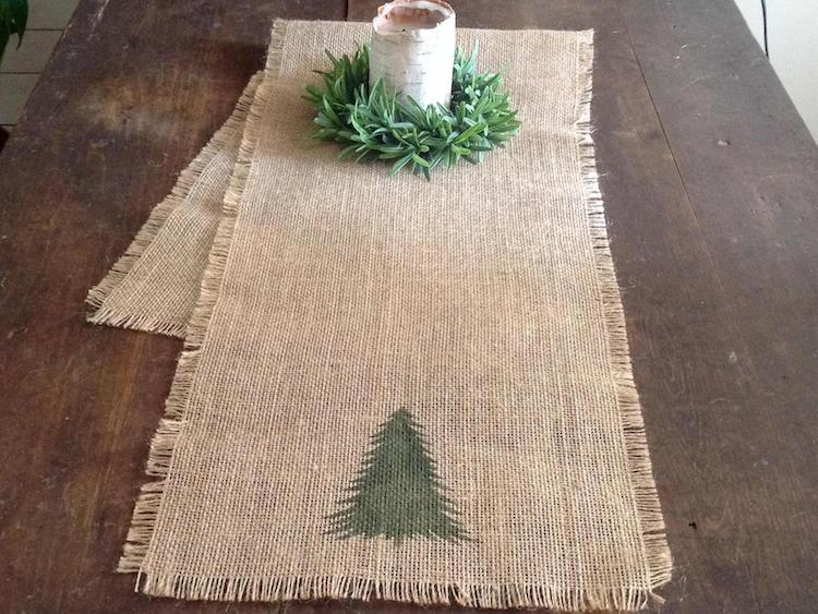 Table Runner - 20+ Awesome Items to Complete Your Rustic Christmas Aesthetic