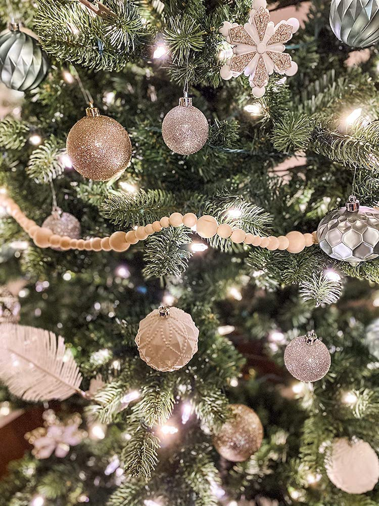 Bead Garland- 20+ Awesome Items to Complete Your Rustic Christmas Aesthetic