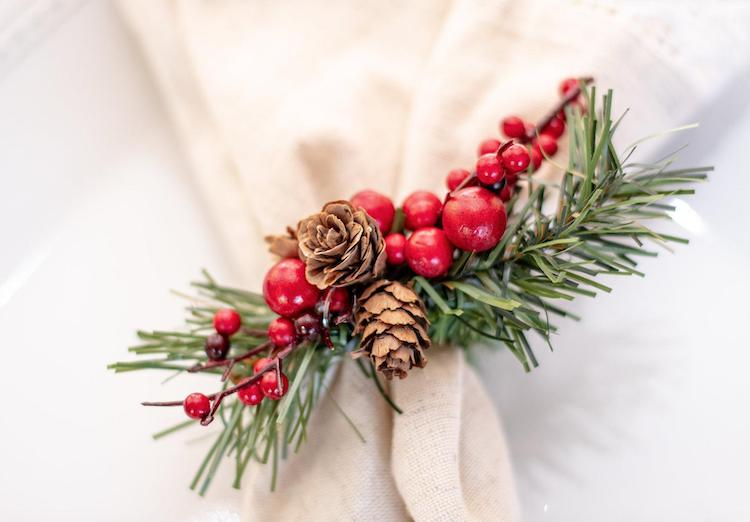 Napkin Holder - 20+ Awesome Items to Complete Your Rustic Christmas Aesthetic