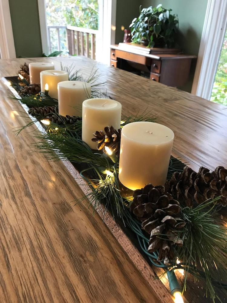 Centerpiece - 20+ Awesome Items to Complete Your Rustic Christmas Aesthetic